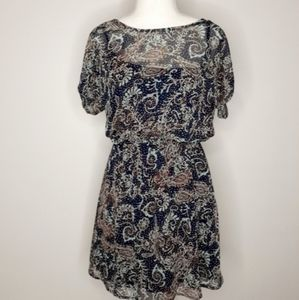 2/$20 Flowy Sheer Dress with Slip Small